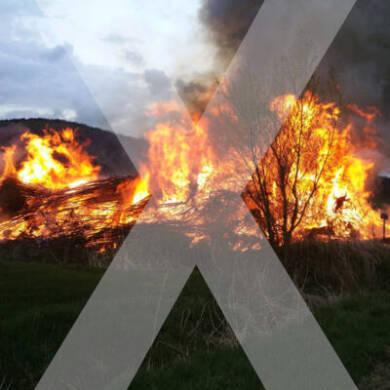 Auch 2021 kein Osterfeuer